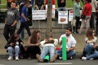 Studenti blokirali i FPN