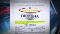Diploma veštaka s univerziteta koji nije ni postojao